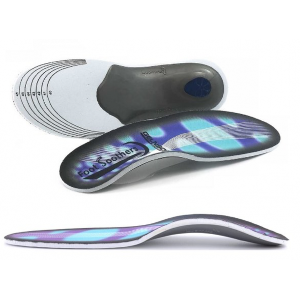 FootSoothers® 3D Premium Orthotic Gel High Arch Support Insoles