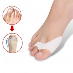 FootSoothers® Double Hole Gel Bunion Protector Toe Straightener Correctors