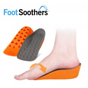 FootSoothers In-Sock Lift Height Increase Insoles
