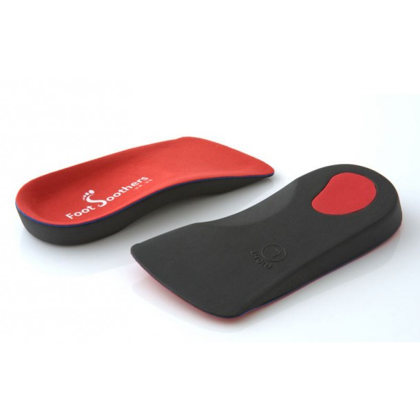 R3D 3/4 Orthotic Insoles Arch Support Foot Soothers Pronation Fallen Arches Flat
