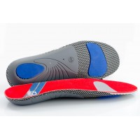 FootSoothers ProArch-X Orthotic Insoles Full length Arch Supports Density Pads