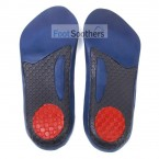 FootSoothers® GelTec 3/4 Gel Orthotic Arch Support Insoles