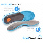 FootSoothers® 5D Orthotic Orthotic Shoe Insoles Arch Support Plantar Fasciitis
